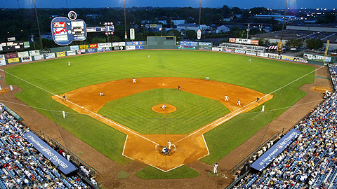 Nashville's Greer Stadium hosted an open tryout for the Brewers on July 22.