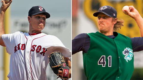 Billy Buckner of Pawtucket and Charlotte's Charles Leesman will be key figures for their clubs.